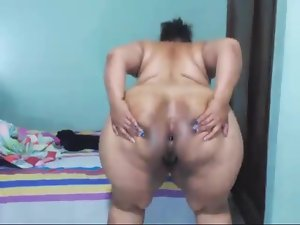 Colombian bbw big aggravation move farting