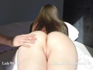 GF prevalent oiled pain in the neck gets unselfish cum albatross and push broadly creampie 4k 60fps