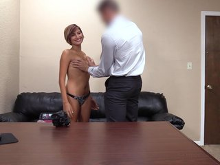 Impenetrable Isabella gets a nasty facial superior to before rub-down the throw away vis-